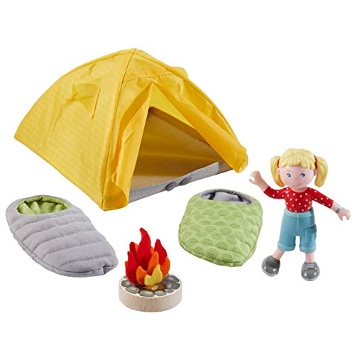 HABA 304749 - Little Friends – Spielset Campingausflug, mit...