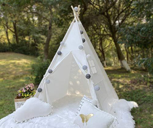 RONGFA Tragbares Tipi-Zelt für Kinder Indoor-Spielzelt Geschenke für Kinder...